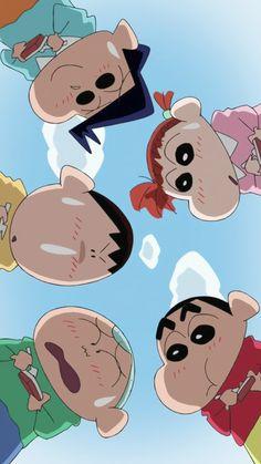 Sinchan Wallpaper, Cartoon Wallpaper Iphone, Kawaii Wallpaper, Cute Cartoon Wallpapers, Cute Wallpaper Backgrounds, Disney Wallpaper, Sinchan Cartoon, Doraemon Cartoon, Crayon Shin Chan