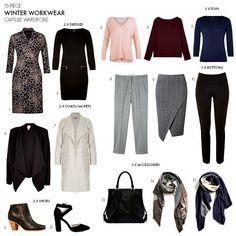 Winter work wardrobe capsule