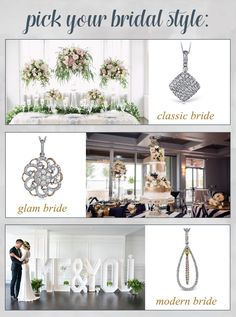 BridalPulse - Enter to Win a Simon G Diamond Necklace! | Follow @BridalPulse for more wedding inspiration!