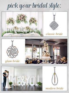 BridalPulse - Enter to Win a Simon G Diamond Necklace! | Follow @BridalPulse for…