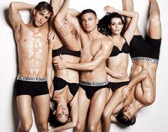 underwear models...