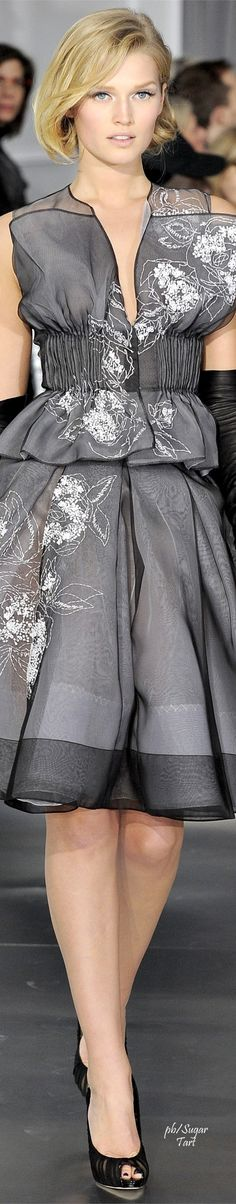 .Dior Couture S/S 2012                                                       …