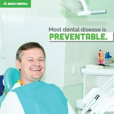 Almost every dental disease can be prevented by simply using your toothbrush and floss twice a day. Brushing and flossing eliminates potential threats in your mouth and help keeps your teeth looking good and staying strong!