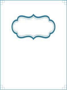 Home Management Binder Printable: Customizable Blank Section Divider