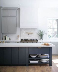 28 Private Facts About Two Tone Kitchen Cabinets Farmhouse Paint Colors Only the Pros Know Exist White Kitchen Cabinets Cabinets Colors Exist Facts Farmhouse Kitchen Paint Private Pros Tone Two Tone Kitchen Cabinets, Kitchen Cabinet Colors, Painting Kitchen Cabinets, Kitchen Colors, Two Toned Kitchen, Gray Cabinets, Kitchen Counters, Gray Kitchen Paint, Grey Painted Kitchen Cabinets