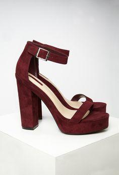 Sandaletten mit Plateausohle - Damen Schuhe und Stiefel | online shoppen | Forever 21 - 2000155635 - Forever 21 EU Deutsch