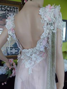 wedding dress Romantic Wedding dress fairy by RetroVintageWeddings, $989.00