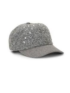 San Diego Hat Company Boucle Beweled Baseball Cap In Grey Grey Gloves, Baseball Cap, San Diego, Scarves, Comfy, Jewels, Hats, Baseball Hat, Scarfs