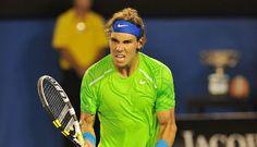 Que gran jugador Rafael Nadal el mejor del tenis ibérico