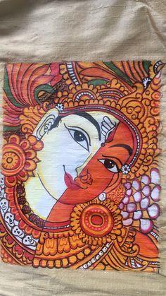 Worli Painting, Kerala Mural Painting, Dress Painting, Madhubani Painting, Painting Lessons, Fabric Painting, Fabric Paint Designs, Madhubani Art, Glitter Art