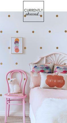 Adore Home magazine - Blog - Gold walldots