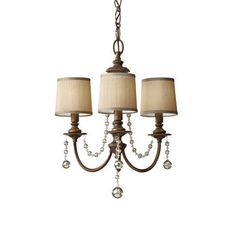 View the Murray Feiss F2723/3 Clarissa 3 Light Chandelier with Beaded Accents at LightingDirect.com. $305