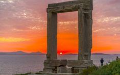 Golden Gate Bridge, Santorini, Marina Bay Sands, Greece, Sunset, Building, Travel, Colors, Backgrounds