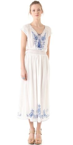 Rebecca Taylor dress. I used to have a dress like this but it was too see-through and I didn't have a slip :(