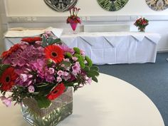 Venue Decorations | Vickys Flowers - Wedding Flower service with style and creativity | East Calder , West Lothian Flower Service, Wedding Flowers, Creativity, Display, Table Decorations, Home Decor, Style, Homemade Home Decor, Billboard