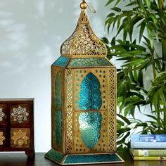 Moroccan Décor: Home Decor, Home Improvement & Home Design – Self Home Decor Moroccan Lighting, Moroccan Lamp, Moroccan Lanterns, Moroccan Bedroom, Moroccan Theme, Moroccan Design, Moroccan Style, Lantern Lamp, Candle Lanterns