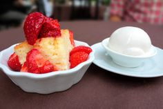 Tres Leches Cake and Coconut Chill Ice Cream from Beast Restaurant at 96 Tecumseth Street in King West