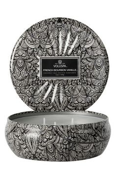 Voluspa 'Vermeil - French Bourbon Vanille' 3-Wick Candle | Nordstrom