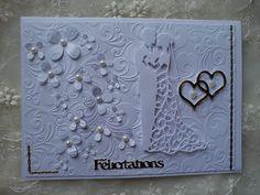 Cartes de félicitations pour un mariage wedding card par Athéna
