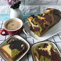 [recipe] Camouflage Pound Cake - cuisineparadise on Dayre