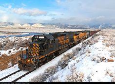 RailPictures.Net Photo: DRGW 5371 Denver & Rio Grande Western Railroad EMD SD40T-2 at Sunnyside Junction, Utah by Robert Pisani