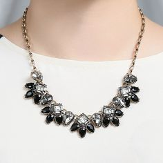 Midnight Palace Collar Necklace | www.chloeandisabel.com/boutique/allisondarouze