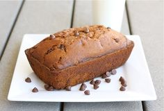 Pumpkin Chocolate Chip Bread from www.twopeasandtheirpod.com #pumpkin #recipe