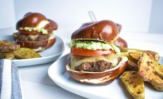 Santa Fe Burger with Cajun Fingerling Potatoes – Shop Homemade – Products by Ayesha Curry