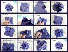 Gift box deco origami
