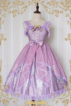 Strawberry Witch The Little Angel Singing Blessing Poem Lolita Jumper Dress