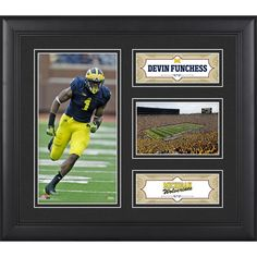 Devin Funchess Michigan Wolverines Fanatics Authentic Framed 15'' x 17'' Collage