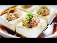 Steamed Tofu with Minced Meat – 豆腐蒸肉 – The MeatMen – Your Local Cooking Channel Tofu Recipes, Asian Recipes, Cooking Recipes, Chinese Recipes, Ethnic Recipes, Chinese Food, Meat Cake, Cooking Tofu, Malay Food