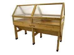 VegTrug Cold Frame for Classic Medium Raised Bed Planter Greenhouse Frame, Best Greenhouse, Trough Planters, Wood Planters, Raised Planter Beds, Raised Beds, Steel Panels, Roof Panels, Vegetable Bed