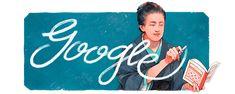 2020-11-10 津田梅子を称えて Google Doodles, Kamakura, Era Meiji, Bryn Mawr College, Holiday Logo, What Is Today, Painting Activities, Seven Years Old, Dates
