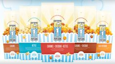 Gary Poppins Popcorn Packaging   DesignScout Popcorn Packaging, Cheddar, Caramel, Snacks, Projects, Porn, Graphic Design, Google, Inspiration