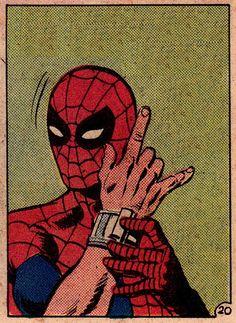 Amazing Spiderman, All Spiderman, Marvel Art, Marvel Dc Comics, Marvel Heroes, Old Comics, Vintage Comics, Comic Books Art, Comic Art