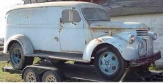 Sweet 41-46 Chevy Dually panel!