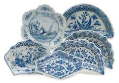 Beautiful antique DUTCH DELFT CHINOISERIE PICKLE DISHES - Christie's
