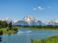 The Grand Tetons in Wyoming are an amazing stop on any RV'ing adventure