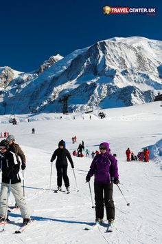 The Alps in this picture was photographed at the Chamonix ski resort in winter. It's the perfect place to ski your worries away! Cheap Holiday, Holiday Deals, Winter Holiday Destinations, Best Christmas Markets, Travel Center, Winter Holidays, Favorite Holiday, Alps, Fun Activities