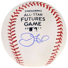 Derek Fisher Houston Astros Fanatics Authentic Autographed 2017 Futures Game Logo Baseball