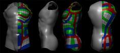 Resultado de imagem para retopology torso