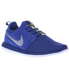 Nike Blue Roshe Two Boys Youth Your budding trendsetter can keep their streetstyle vibe on point thanks to Nike as the Roshe Two arrives for kids. The revamped profile features a sleeve construction in a purple blue fabric, joined  http://www.MightGet.com/january-2017-13/nike-blue-roshe-two-boys-youth.asp