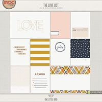 The Love List Journaling Cards