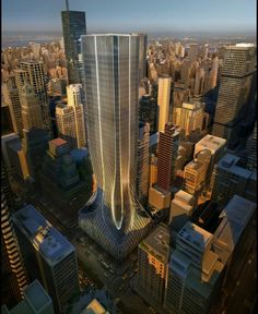 Zaha Hadid. 425 Park Avenue in New York. Project never built.