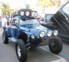 Monster Baja Bug - want this but done to a Ghia