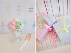 Stunning Ice Cream Birthday Party :: Party Inspiration | The TomKat Studio