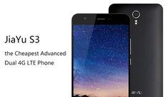 El Jiayu S3 es un smartphne de primera calidad con precios realmente bajos, ademas esta propulsado por el último procesador Mediatek 64 bits, 2 y 3 GB de RAM DDR3 y soporta 4G LTE dual