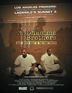 Want to see this-dhamma brothers - beautiful documentary about prisoners and their encounter with meditation.