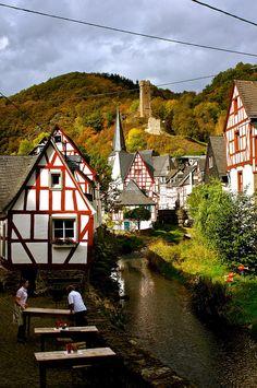 Monschau, Rhineland-Palatinate, Germany